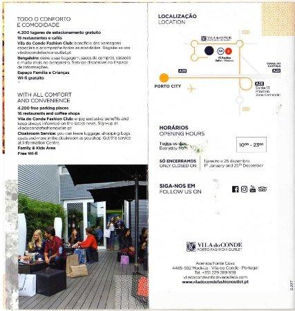 Vila do Conde Porto Fashion Outlet: Flyer