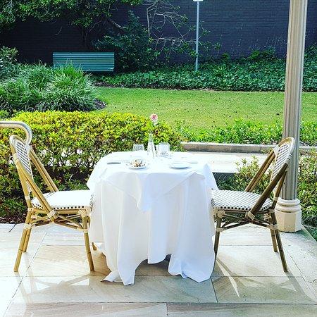 Boronia House offers the perfect al fresco garden high tea ...