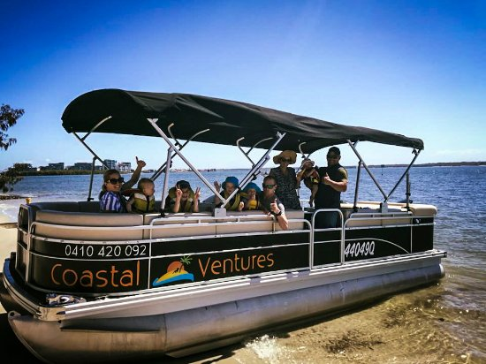Gold Coast, Australia: Kids love the pontoon!!