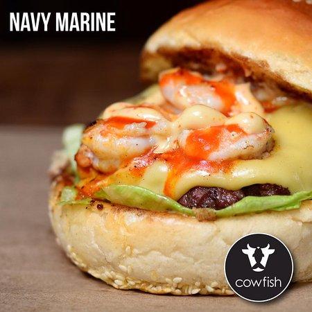 Our Navy Marine Burger.