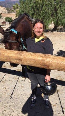 Rancho Bonanza: Aimee and I