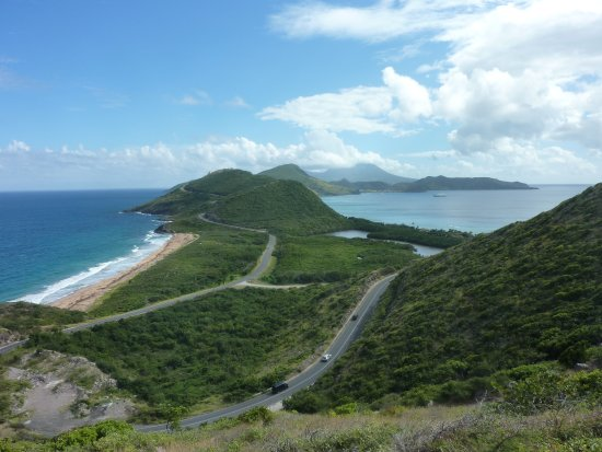 Welcome Tours St. Kitts and Nevis : View from Timothy Heights on tour