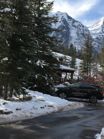 Sundance Resort: Parking area