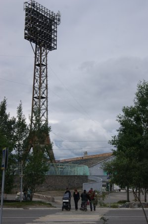 Olenegorsk, روسيا: Стадион