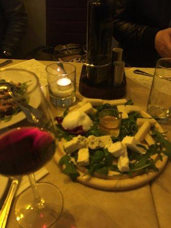 Bernini Restaurant: cheese plate