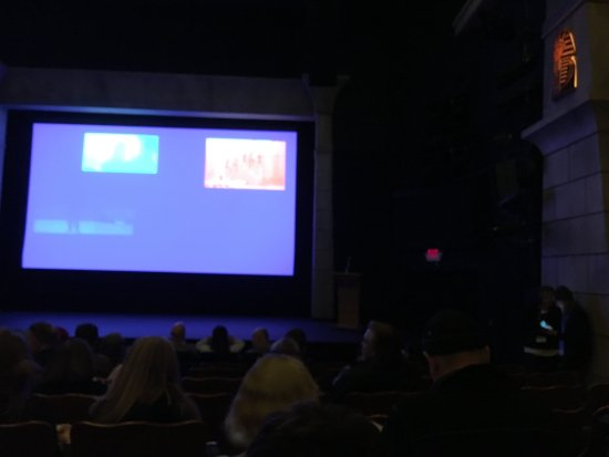 Inside the Egyptian Theatre, Park City, Utah