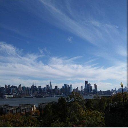 West New York, NJ: Vista do Parque