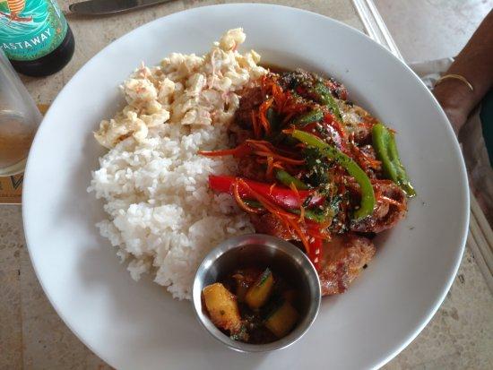 Kaunakakai, هاواي: Korean Chicken