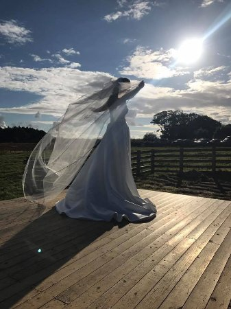 Kilchattan Bay, UK: Beautiful setting for a Wedding