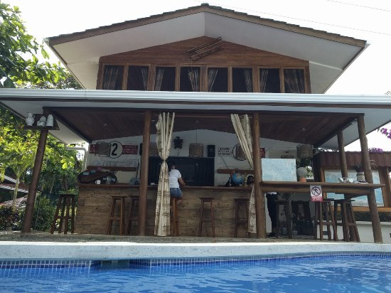 Playa Matapalo, Costa Rica: Potential bar has facility for cooking and drinks preparation (awaiting Govt. approval)