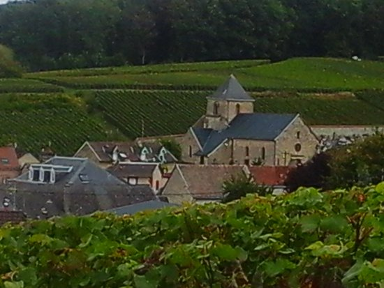 Mailly-Champagne, France: View over part of Mailly Champagne village