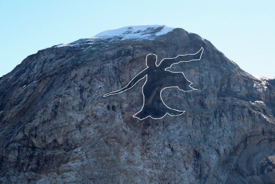 Uummannaq, Groenland: Black Angel From marmorilik