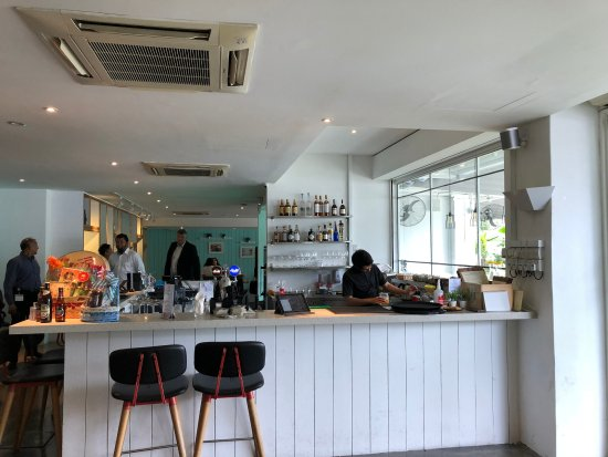 Bar counter - Picture of Blue Lotus @ Alexandra (Kitchen Bar ...