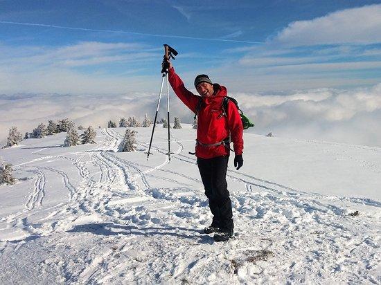 Arieseni, Rumänien: snow track