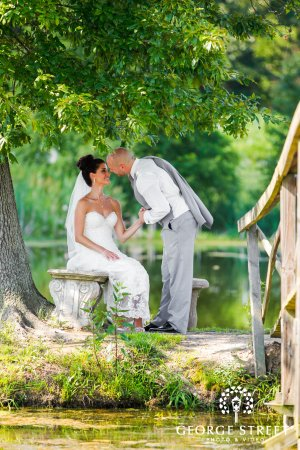 Hillsboro, MO: The new Mr. & Mrs. on the island