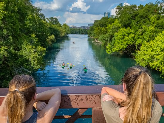 Texas: Austin's Zilker Park offers tons of activities & a spring-fed pool.