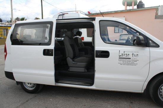 Viaje por Chiapas: Unidades para servicios espaciales y privados