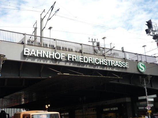 Berlin Friedrichstrasse Station
