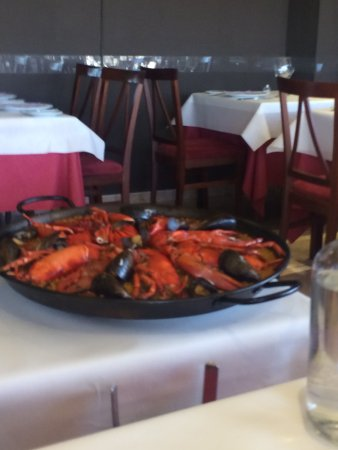 Sa Cranca: Paella con bogavante