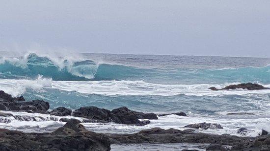 OCEANO Hotel Health Spa: Auf dem Weg zum Leuchtturm direkt am Meer entlang