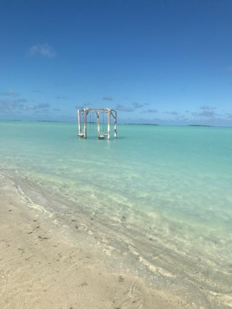 Coco Plum Beach Swings On The Left These Are In Better Shape