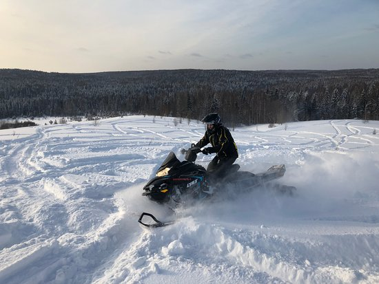 Arkhangelsk Oblast, Rusland: снега около метра