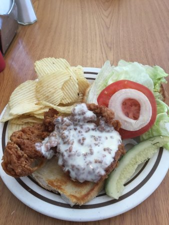 Johnson City, NY: That fried chicken sandwich