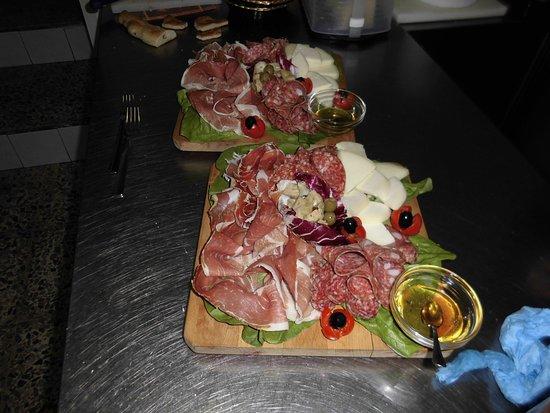 Tocco da Casauria, Italien: antipasto marlon
