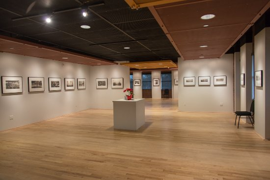 Gilbert, AZ: Gallery during the exhibition of platinum/palladium prints.