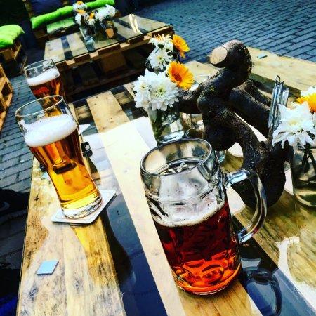 Freudenberg, Tyskland: Feierabendbier ;)