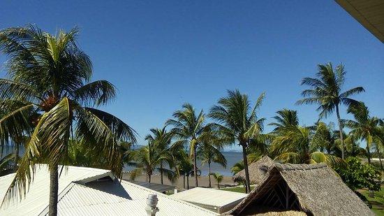 El Roble, Costa Rica: vista desde los balcones a las habitaciones del hotel