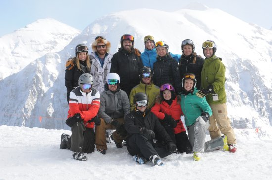 The Hotel Telluride: SKI SOULS happy group