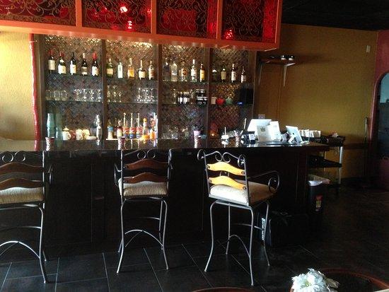 Bar area of New Delhi Palace