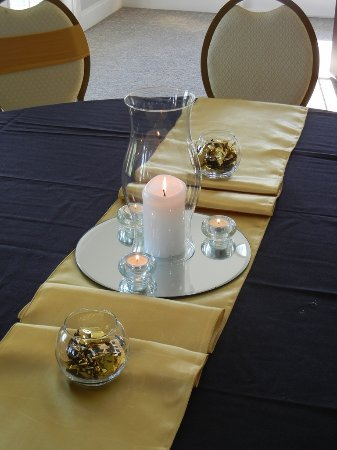 Tuscawilla Golf Course: Table setup