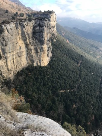 Tavertet, Ισπανία: Mountains near Rupit 15 min away