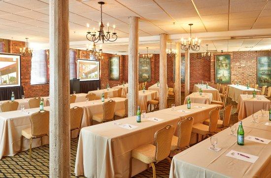 The Grand Arista Ballroom at the Historic Brookstown Inn, Winston-Salem