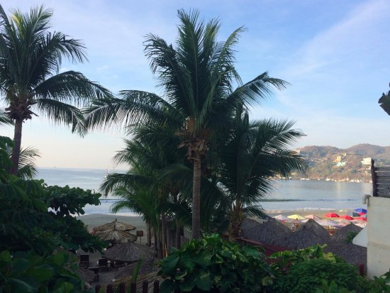 Aura del Mar Hotel: View from my deck in the villa