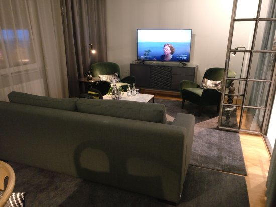 Clarion Hotel Winn: Vardagsrum