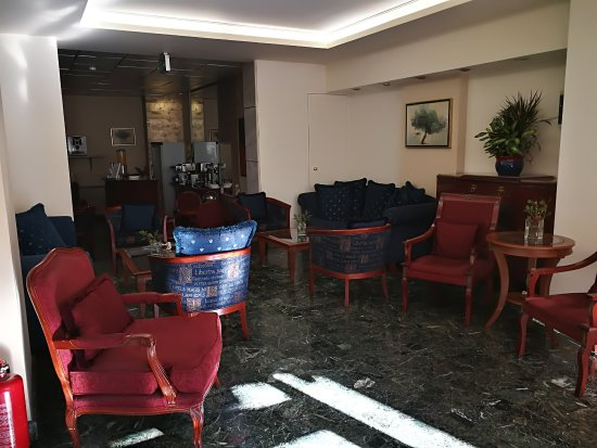 Pythagorion Hotel: Холл