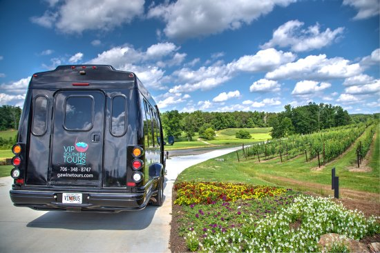 Sautee Nacoochee, Gürcistan: Let the original wine bus whisk you away into the heart of Georgia's wine country!
