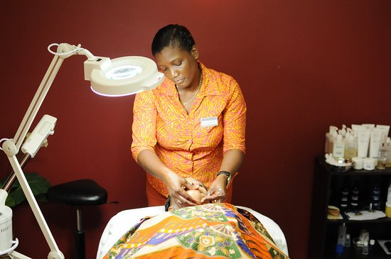 Gros Islet, St. Lucia: award winning spa treatment