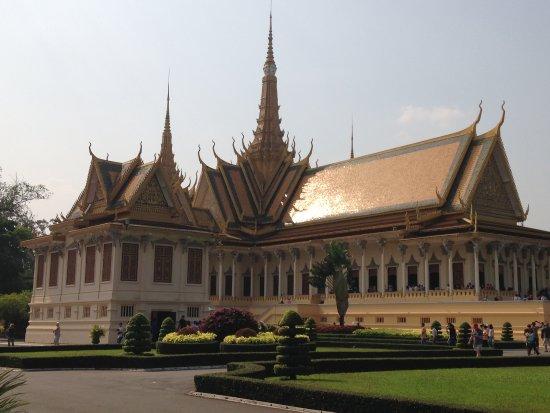 Salle Du Tr 244 Ne Picture Of Royal Palace Phnom Penh