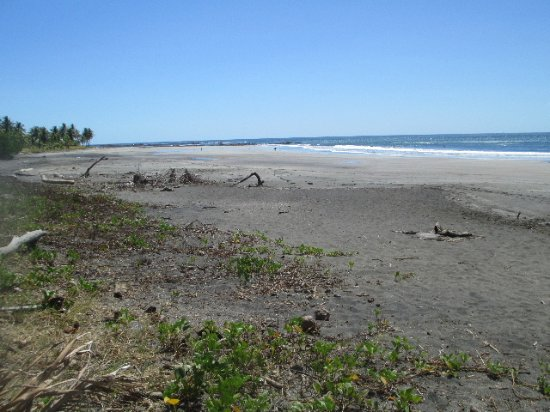 Marbella, Costa Rica: Looking south from the Tiki Hut