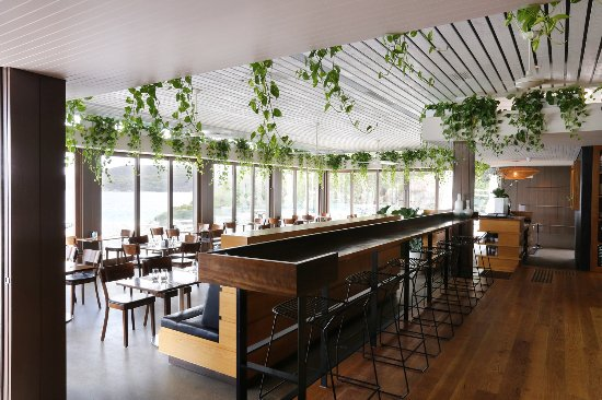 The Bistro at Manly Pavilion: Main dining room.