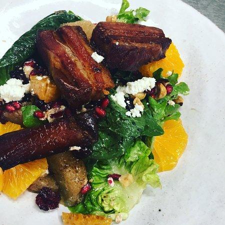 Twain Harte, CA: Citrus Bacon Salad