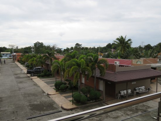 Isabela, Filipinas: view from our balcony