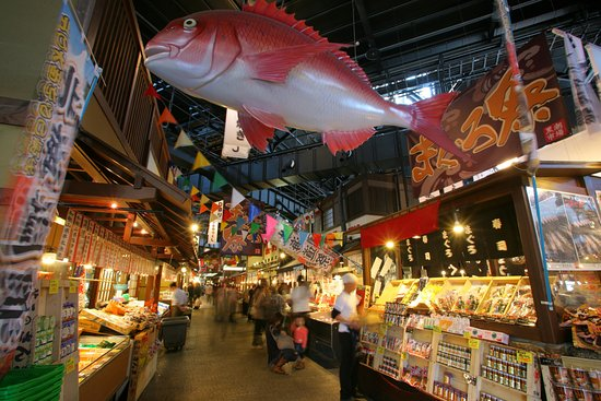 Wakayama, Japan: Kuroshio Market Inside