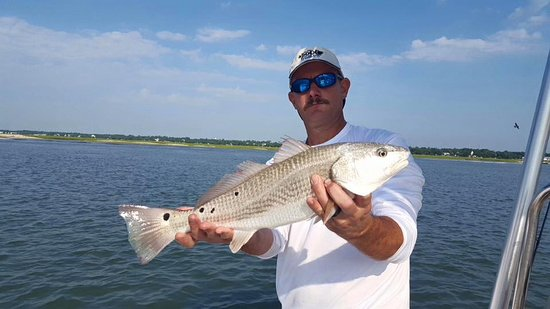 Murrells Inlet, Carolina del Sud: Inshore redfish