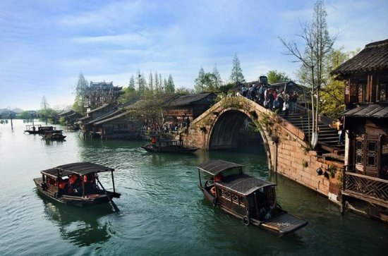 Privat Zhujiajiao Water Town Tour med...