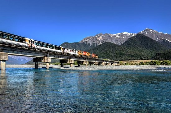 TranzAlpine Train Pass: Christchurch...